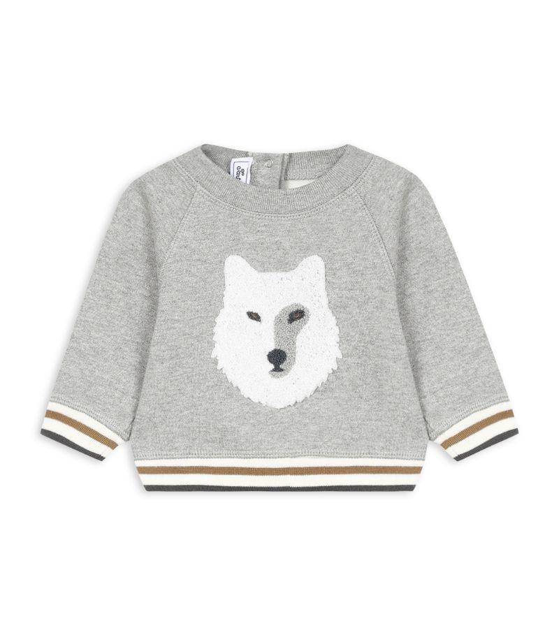 Tartine Et Chocolat Wolf Sweatshirt (3-36 Months)