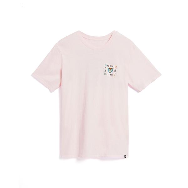 Hurley M BNZ BENGAL SS DK SMOKE GREY T恤(男)