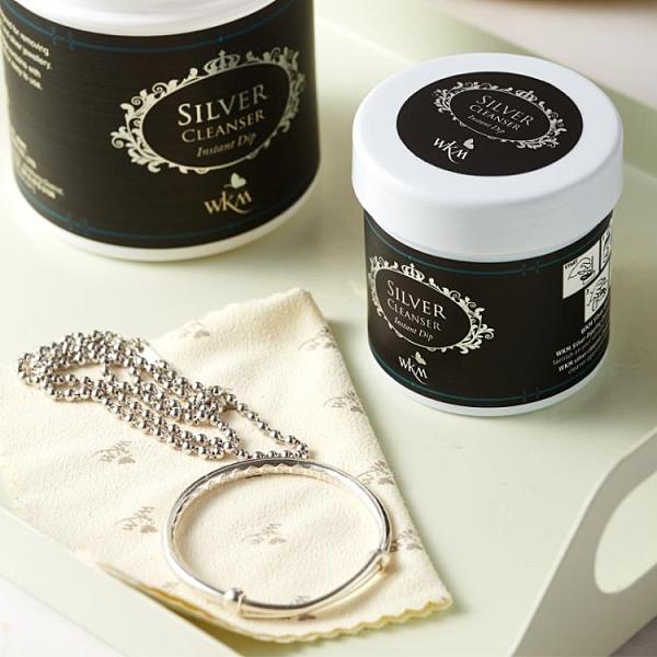 洗銀水 洗銀水擦銀布銀器項錬擦銀棒純銀發黑首飾清潔劑清洗液專業去氧化 宜品