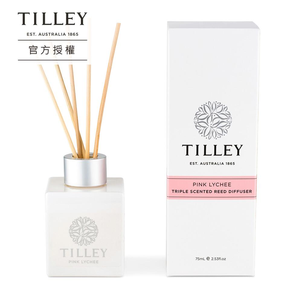 澳洲緹莉tilley蘆葦小擴香瓶(粉紅荔枝)75ml 香味可達3個月