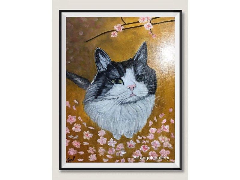 厭世貓   何時才能出國去日本賞櫻啊