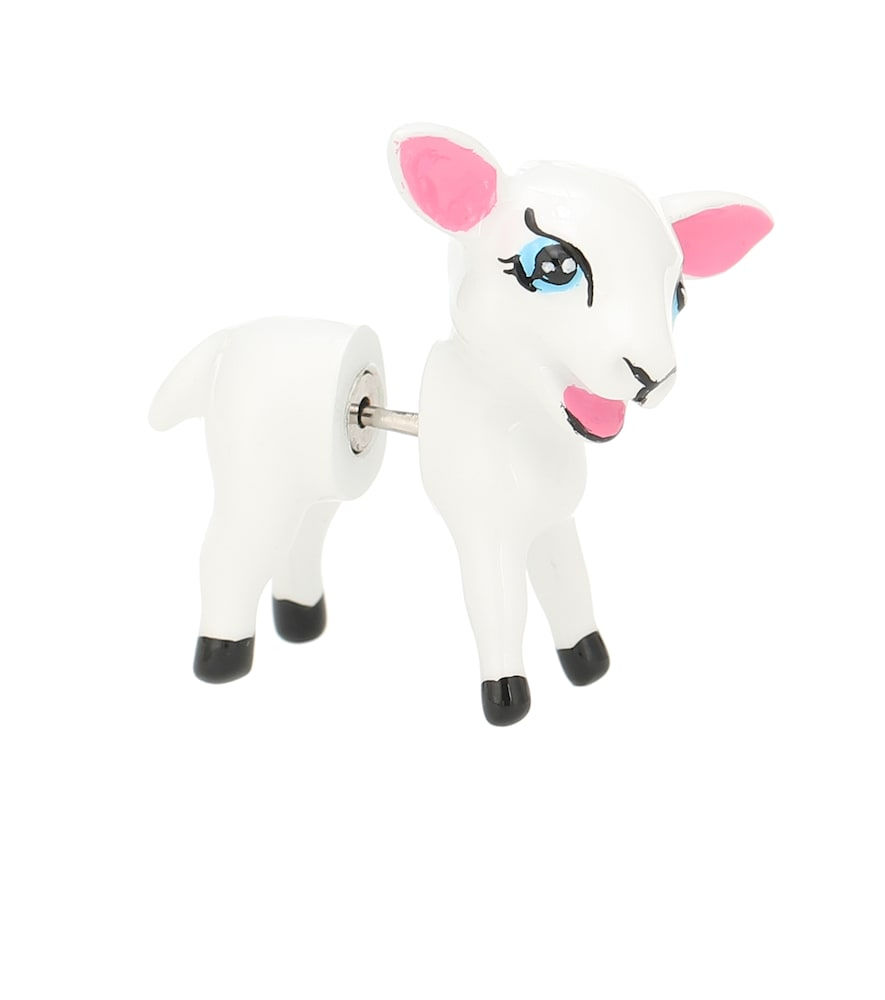 Lamb single earring