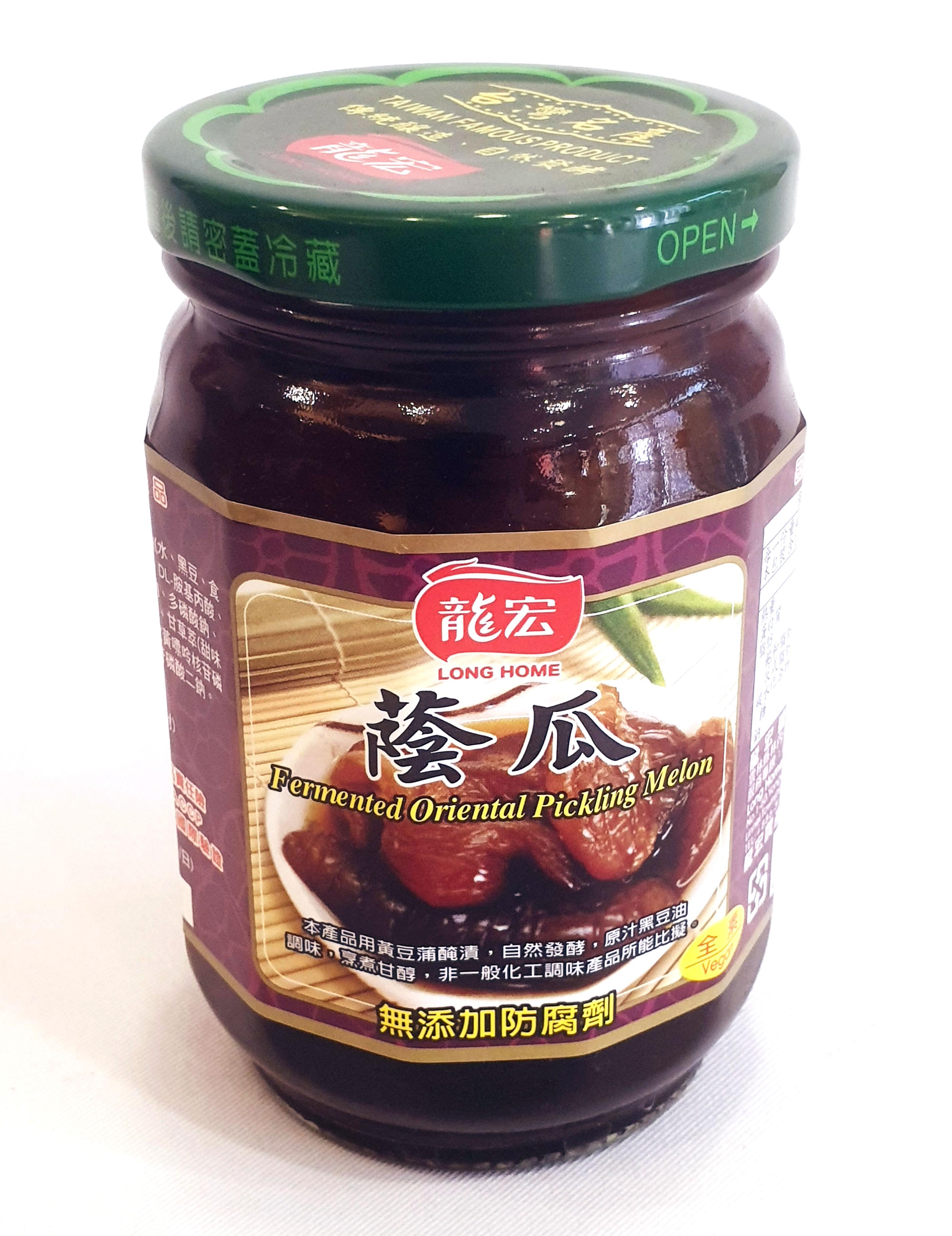 龍宏 蔭瓜 全素 220克/罐  (台灣製造)