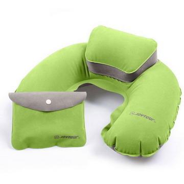 棉絨子母充氣枕