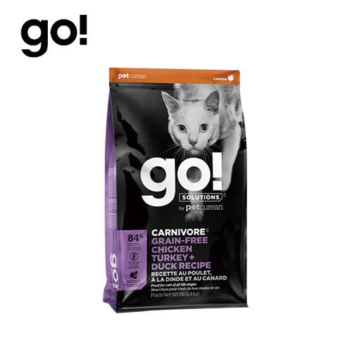 go! 貓咪高肉量無穀系列四種肉3lb