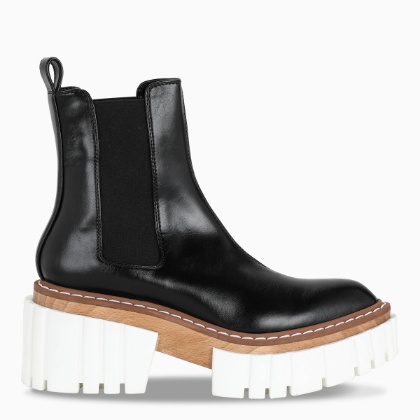 Stella McCartney Black Chelsea boots