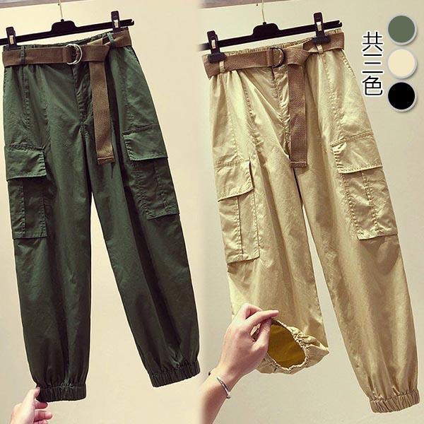【韓國K.W.】KD2109 舒適主打收口修身褲