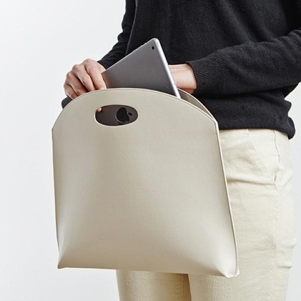 韓國新款女包手提包時尚簡約手拿包OL氣質通勤包文件包女式公文包 向日葵