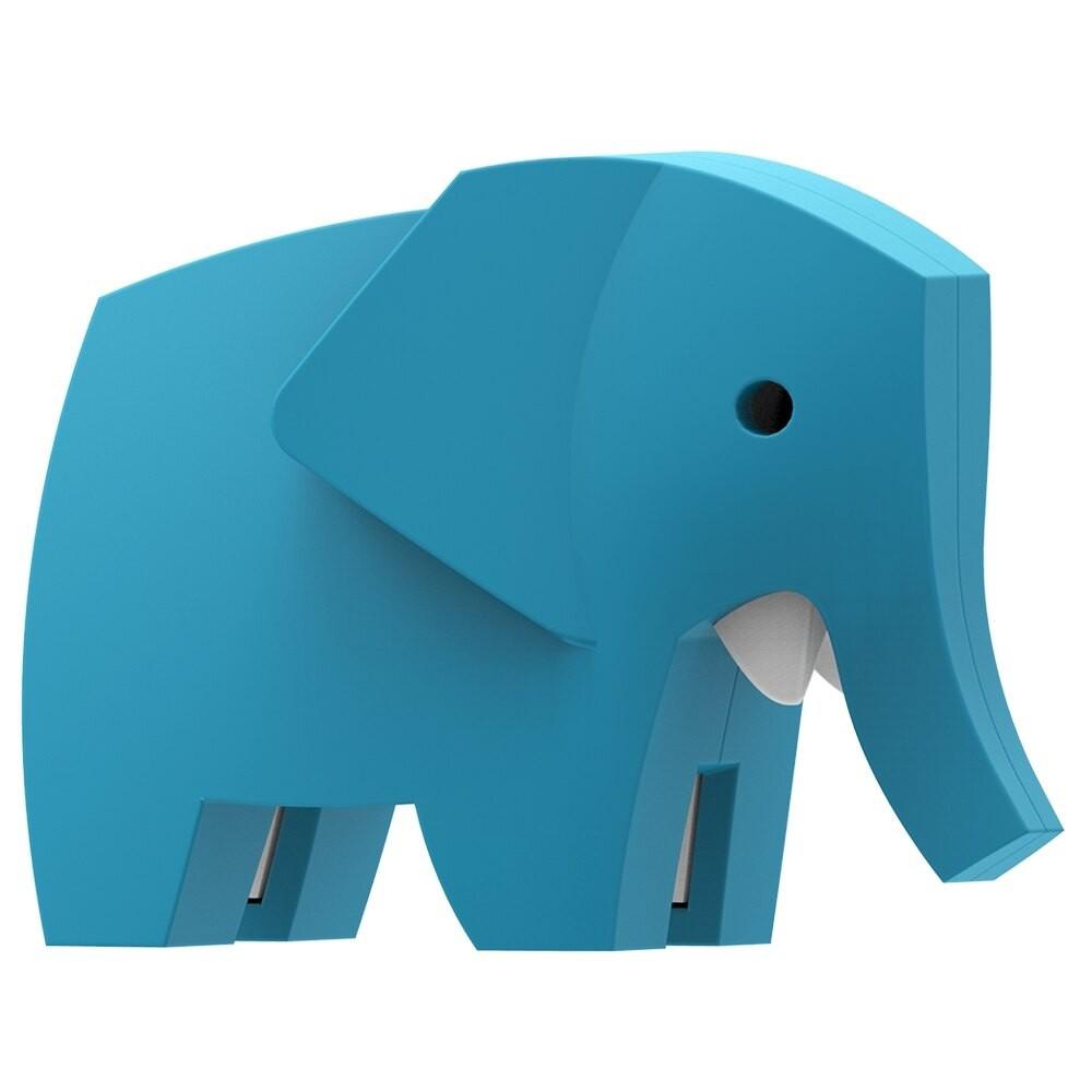 HALFTOYS 3D動物樂園:ELEPHANT 大象 STEAM教育玩具