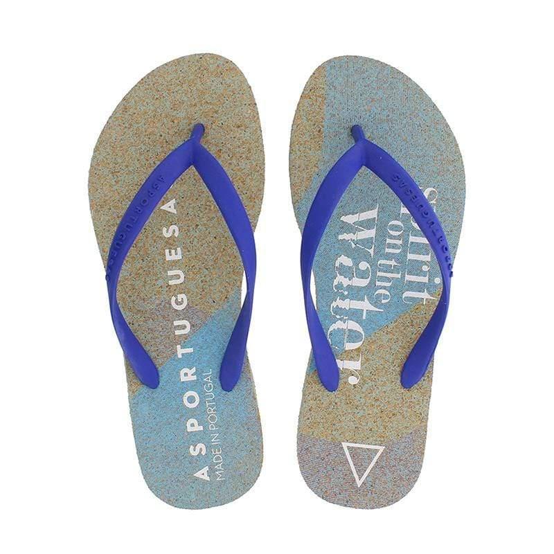 EARTH-EACH人字拖 AS1931-005-海洋藍 / 男鞋 EUR 39