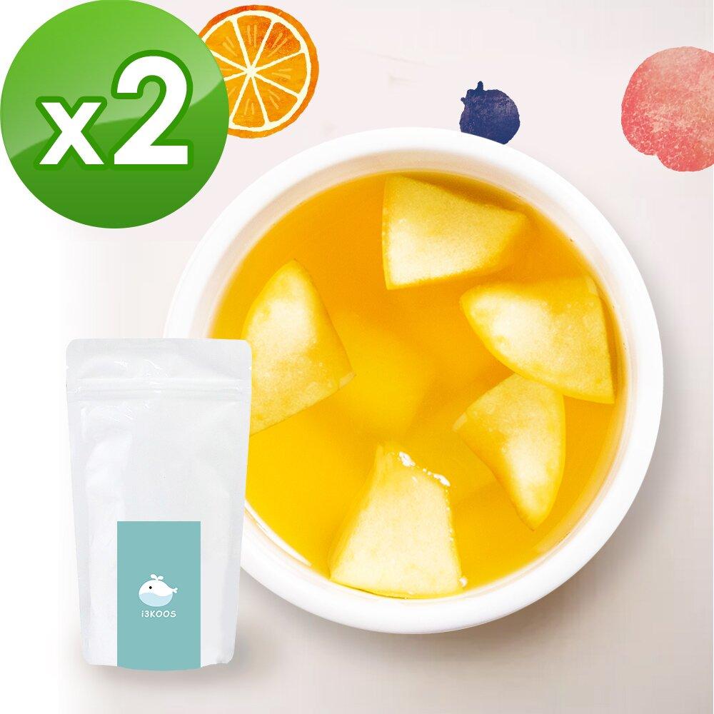 i3KOOS-花漾果香綠茶(可冷泡)-獨享組2組(10包入)