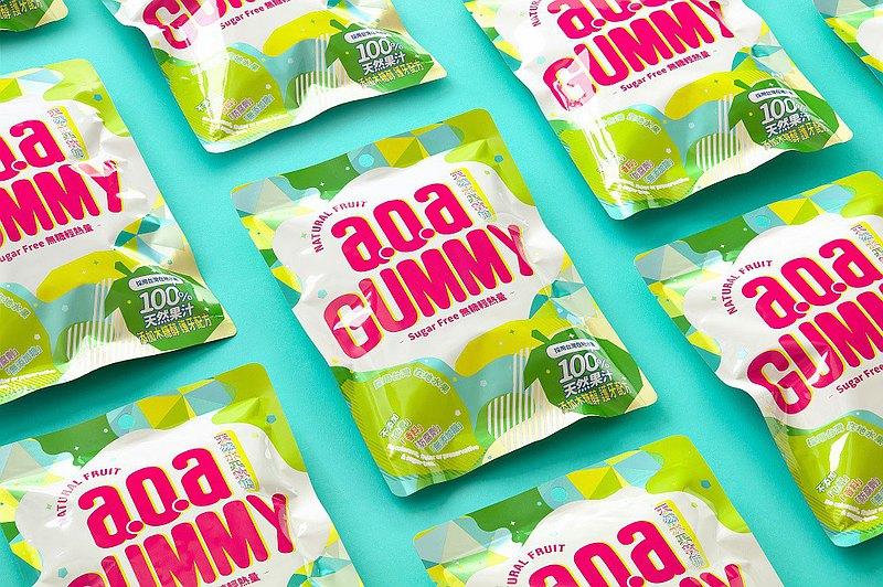 【a.o.a天然水果軟糖】快速出貨 無糖軟糖  低卡 低熱量  護齒