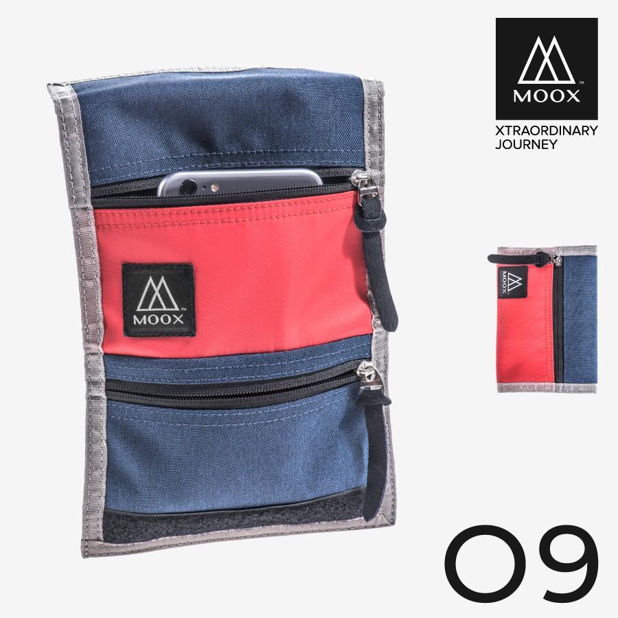 穆克斯MOOX O9BR 輕量旅行收納包(熱血紅藍) 廠商直送 現貨