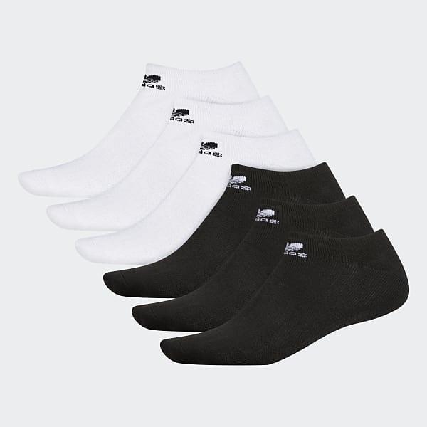 【現貨秒寄】 adidas Originals Crew Sock 腳踝襪 黑色 白色 休閒 運動 透氣 舒適 襪子 1雙入 BH6435