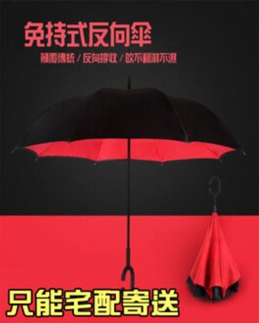 反向傘 反摺傘 直立傘 反折傘 雨傘 女用傘 車用傘 下雨必備 晴空傘 星空傘 葉子小舖