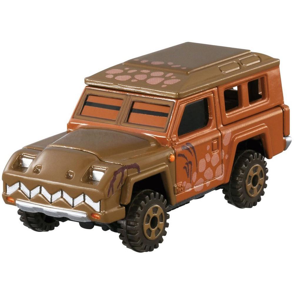 迪士尼小汽車 恐龍當家暴龍吉普車