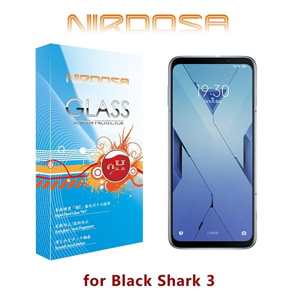 快速出貨 NIRDOSA BLACK SHARK 黑鯊3 9H 0.26mm 鋼化玻璃 螢幕保護貼