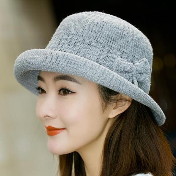針織漁夫帽英倫禮帽
