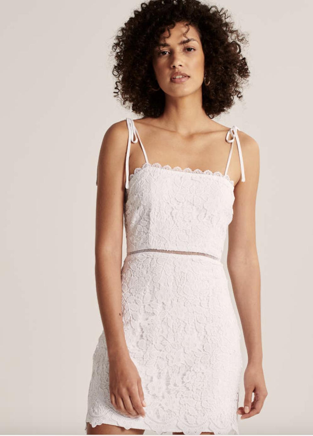 A&F 女款經典蕾絲洋裝 尺寸XXS-XL $2180/件