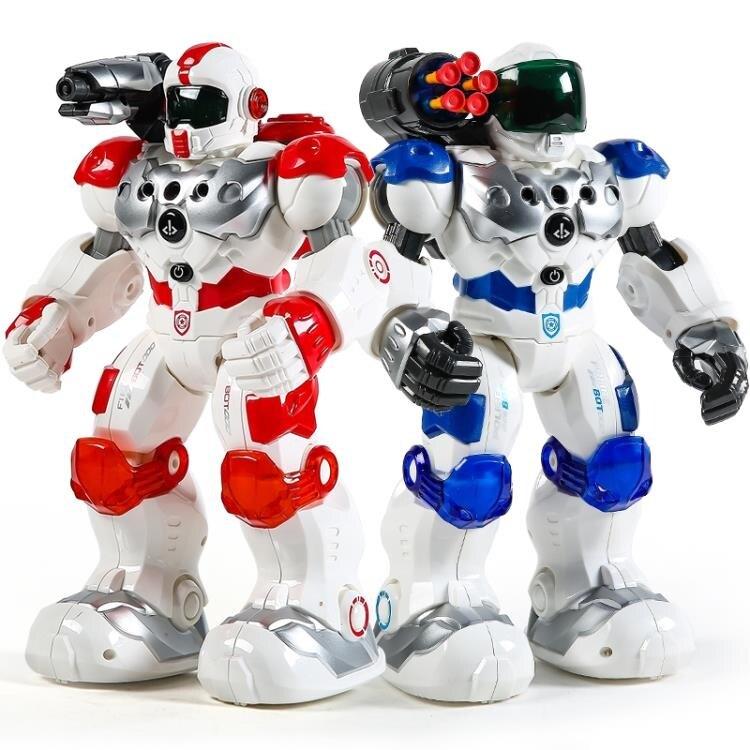 盈佳機械戰警遙控機器人智慧高科技早教機新威爾兒童玩具大號男孩 凯斯盾數位3C 交換禮物 送禮