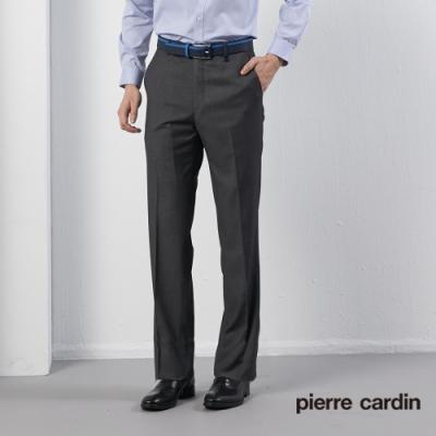 Pierre Cardin皮爾卡登 男裝 微彈力平口西裝褲--灰色(5195845-95)