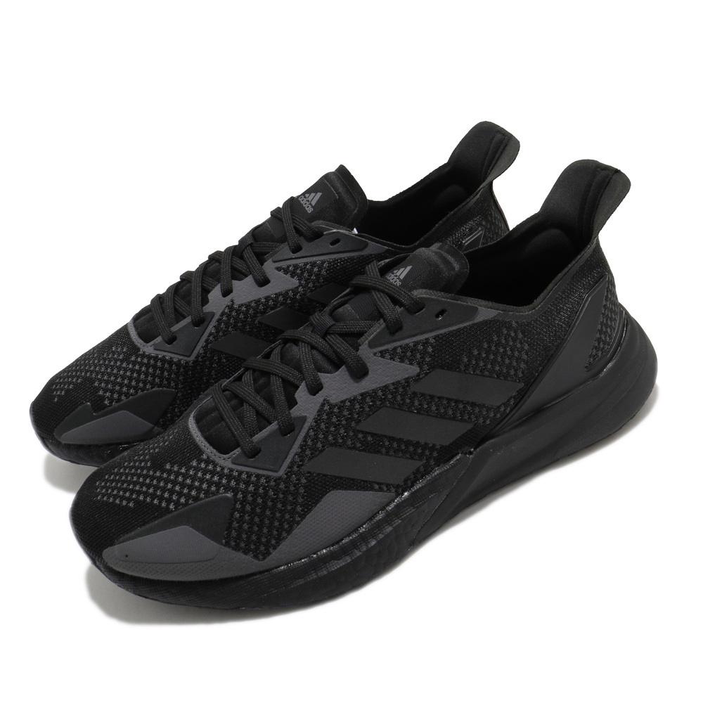 ADIDAS 慢跑鞋 X9000L3 運動休閒 反光 男鞋 愛迪達 科技風跑鞋 編織鞋面 Boost 黑 灰 [EH0055]