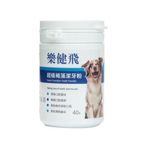 樂健飛l.c.f-犬用寵物超級褐藻潔牙40g(11240013