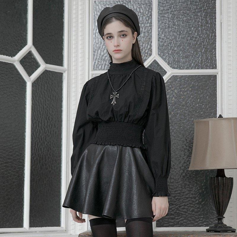 哥德修院蕾絲燈籠袖上衣 / 即將絕版