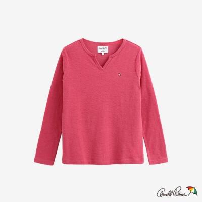 Arnold Palmer -女裝-V領基本款T恤-粉