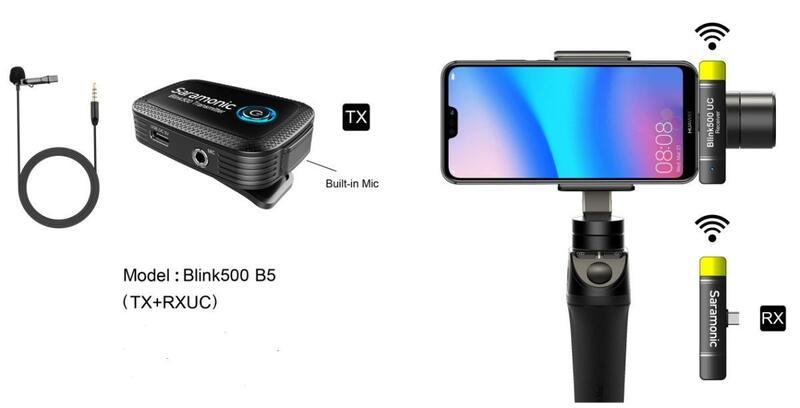 【中壢NOVA-水世界】Saramonic 楓笛 Blink500 B5 Type-C 無線麥克風 1對1 公司貨