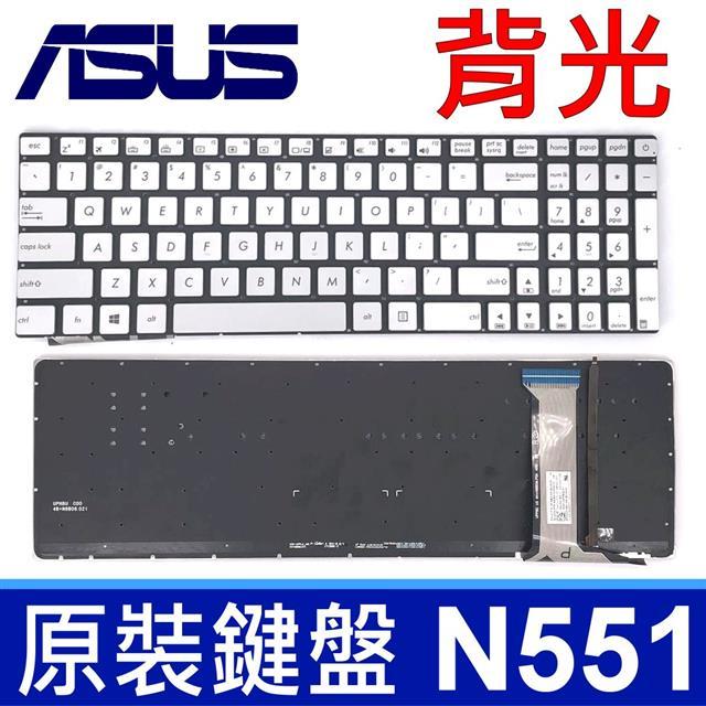 華碩 ASUS N551 全新 英文款 鍵盤