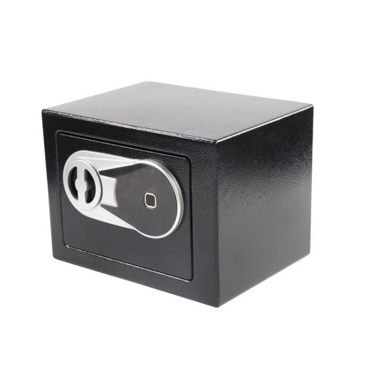 指紋保險櫃家用小型防盜智慧迷你保險箱辦公室全鋼隱形入牆