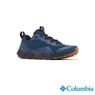 Columbia 哥倫比亞 男款- 都會健走鞋-靛藍 UBM01310KF