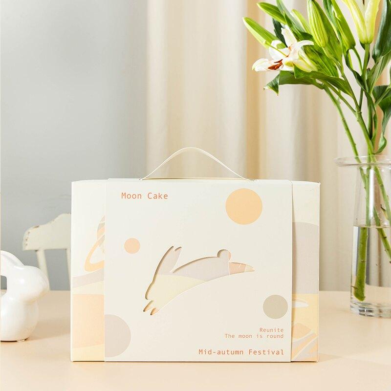 中秋蛋黃酥月餅禮盒包裝盒高檔創意99購物節