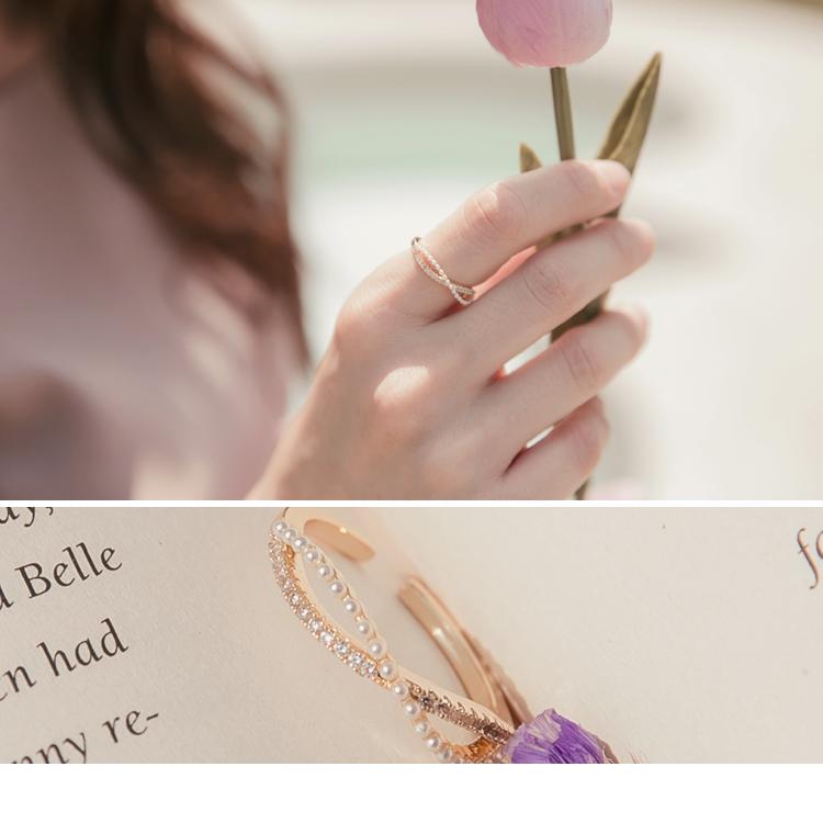微奢愛戀 · 韓系微奢質感可調節戒指