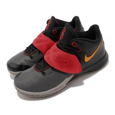 Nike 籃球鞋 Kyrie Flytrap III 男鞋 避震 包覆 明星款 球鞋 XDR外底 黑 紅 CD0191011