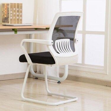 電腦椅家用網椅弓形職員椅升降椅轉椅現代簡約辦公椅子ATF 美好生活