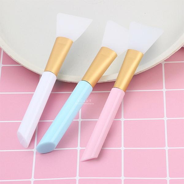 美妝塗抹面膜軟膠刷子 面膜刷 刷子
