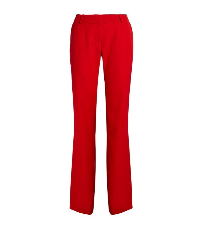 Balmain Wool Bootcut Trousers