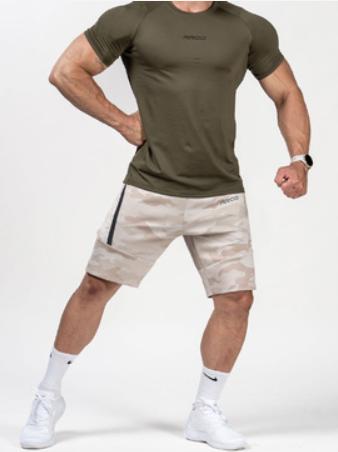 *夢多推薦*[台灣 AROO] 機能訓練迷彩短褲 (沙漠迷彩)