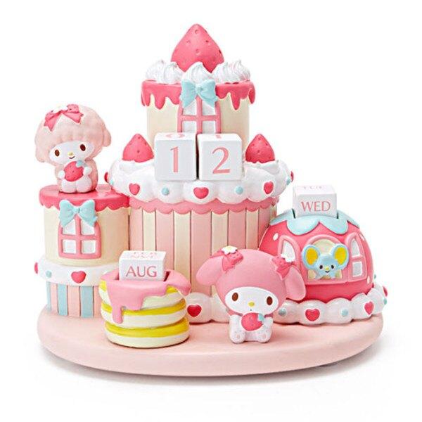 美樂蒂草莓蛋糕造型萬年曆
