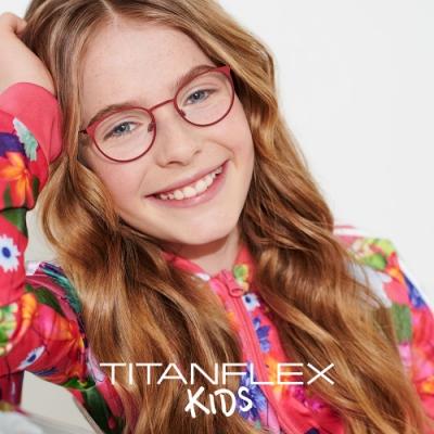 【TITANFLEX Kids】德國超彈性鈦金屬兒童眼鏡框 830113 (共四色)