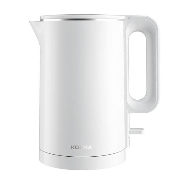 電水壺電熱水壺燒水壺雙層防燙 微愛家居