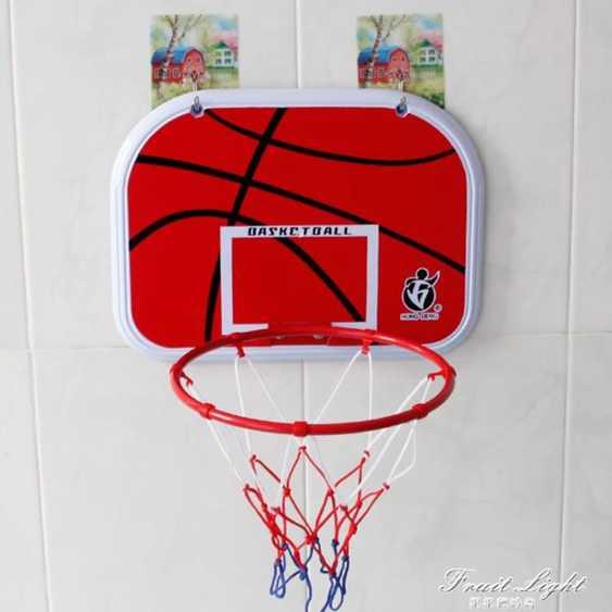 室內免打孔兒童籃球板 家用壁懸掛式籃框籃球架皮球戶外男孩玩具 秋冬特惠上新~