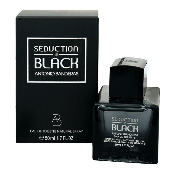 AntonioBanderas 安东尼奥·班德拉斯 黑色诱惑香水EDT 50ml