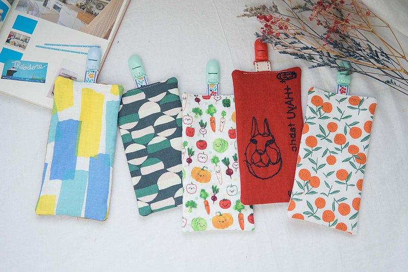手帕巾 | 幼稚園手帕夾 | 八層紗 | E款