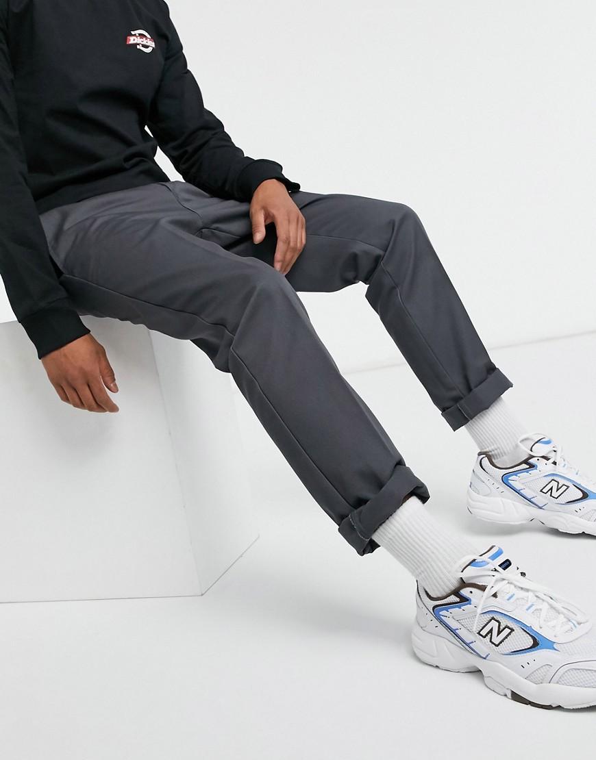 Dickies 872 slim fit work pant in charcoal grey