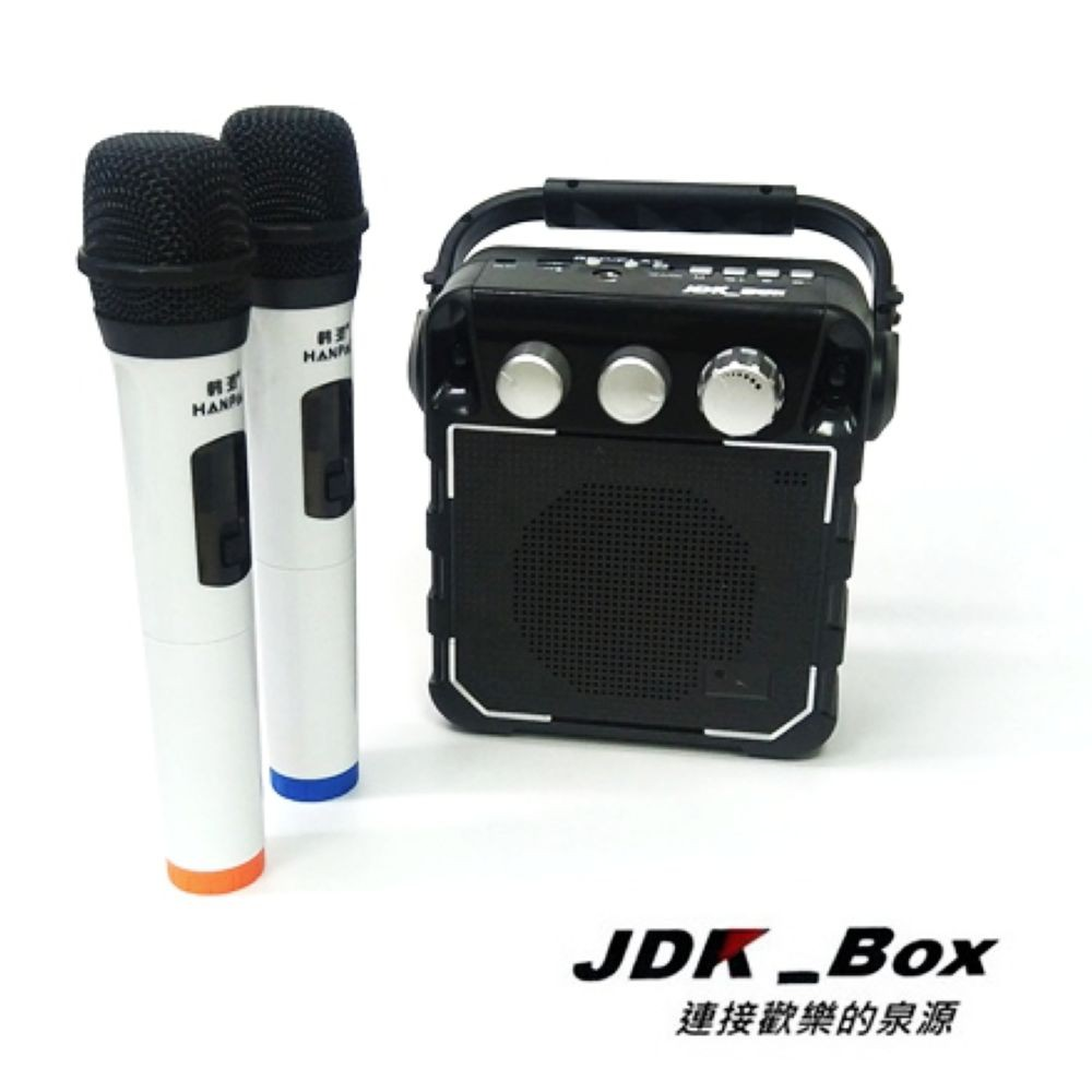 【JDK歌大師】無線影音傳輸唱歌機(穩重黑)