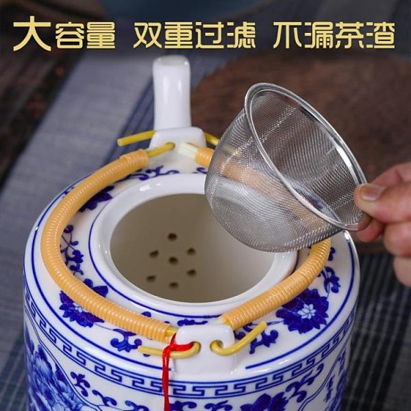 茶壺陶瓷大容量家用