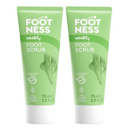Footness足醫適 腿足乳酸輕石去角質凝膠75ml二入組